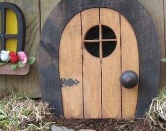 Fairy Doors Faerie Doors Gnome doors Elf Doors rounded. & Faerie door | Etsy