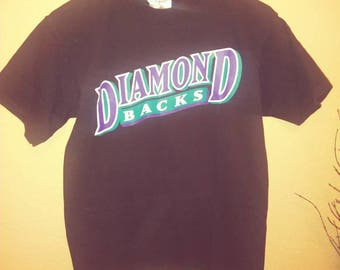 Vintage print Arizona Diamond Back Tshirt large sustainable fashion