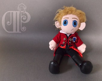 Enjolras Les Miserables Plush Doll Plushie Toy  Aaron Tveit