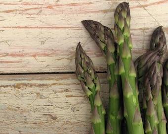 Organic De Paoli Asparagus Seeds -  Heavy Bearing Variety That has Light Green Spears