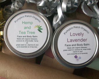 Shea Butter Face and Body Balms