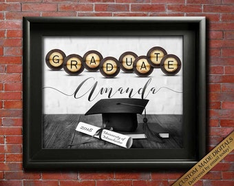Gift for Graduate Gift Ideas School Graduation College Graduation Card for GRADUATE 2018 Graduate CUSTOMIZED Graduate PRINTABLE Graduation
