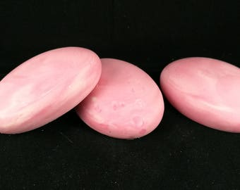 Love spell soap, pink soap, vegan soap, oval soap, soap rocks, soap gift, cold process soap, handcrafted soap, australian made soap, soap