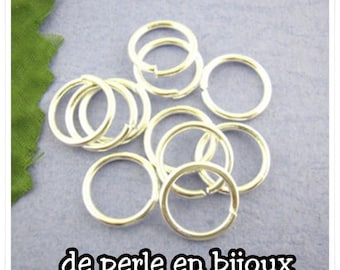Choose your size: 4mm / 5mm / 6mm / 10mm / 12mm round rings open silver metal rings 4 mm 5mm rings 12 mm rings 6 mm 10mm silver rings
