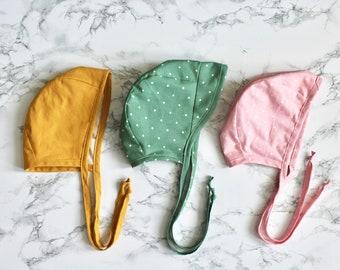 Baby / Toddler Dots Bonnet