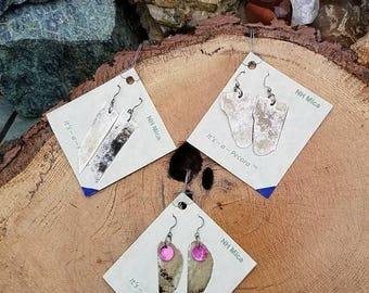 It's - A - Pecora Signature Mica Earrings the world's first and largest Mica earring producer