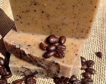 Hunters' soap- anise with coffee goat milk and honey soap