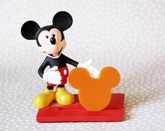 Orange Bird Orange Mickey Mouse Brooch