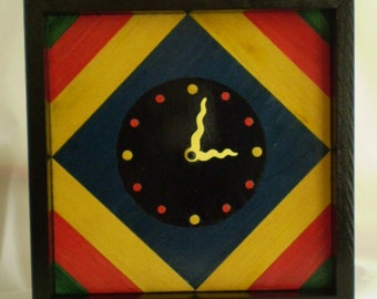 Mantel Clock, Wall Clock, Kitchen Clock, Whimsical Clock