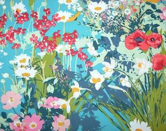 Fabric - Art Gallery - Lavish mothers garden rich - cotton print.