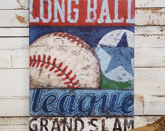 Baseball Art - Line Up Collection - Sports Wall Art Decor Prints & Canvas for the Baseball Fan, Coach and enthusiast.