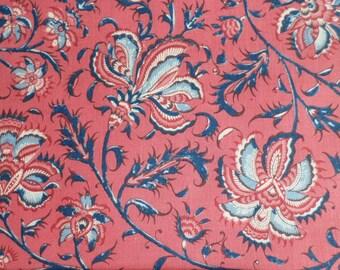 Dutch Heritage Gugarat Large 1020 - Pink - 1/2yd