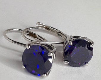 earrings and birgie stone earring amethyst diamond diamonds gemstone oval