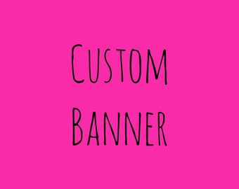 Custom High Chair Banner/Customized High Chair Banner/Cloth High Chair Banner/Birthday Banner/Baby Shower Banner/First Birthday/Photo Prop