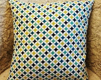 """Pillows with """"Diamonds"""" - Interior - couch - Chair - fabric - cozy - fair - craft"""