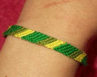 Handmade unique bracelet 100% cotton