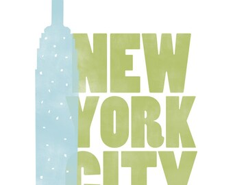 New York City Empire State Print