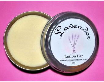 Lavender Essential Oil Lotion Bar 2oz