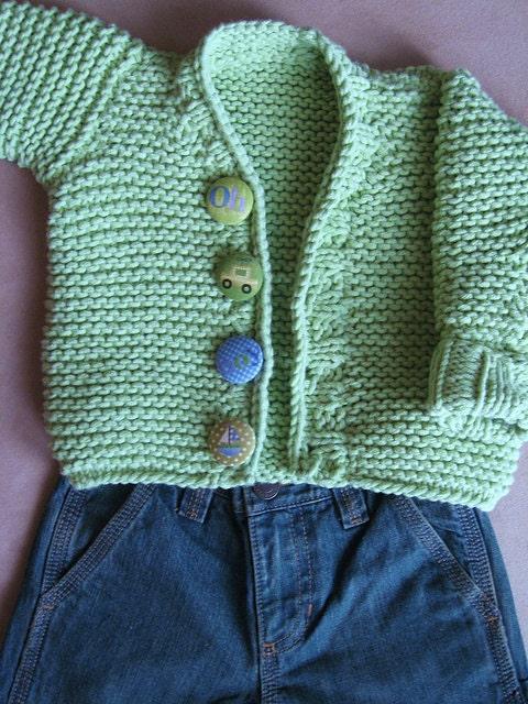 Knitting Patternboys Knit Cardiganboys Knit Jumperlong Sleeve