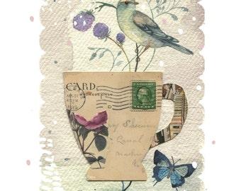 Garden Tea Print