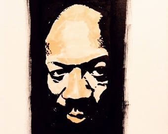 Portrait of Isaac Hayes