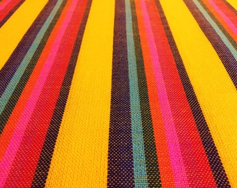 Baby carrier Mexican Senka Yellow w colors stripes Wrap 5,5 yards