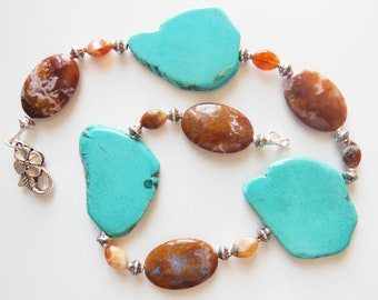 Turquoise Agate Necklace  103