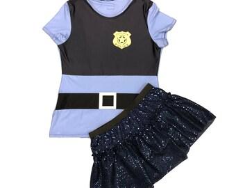 Judy Hopps Zootopia running costume