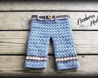 Crochet pattern crochet newborn baby pants pattern baby boy photo crochet baby pants pattern boys or girls diamond stripes baby pants pattern number 50 with 5 sizes up to 2 years instant pdf download dt1010fo
