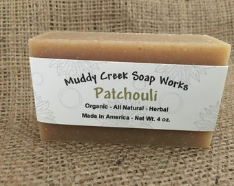 Organic - Patchouli Bar Soap