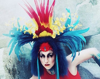 High Priestess Headdress by Willow the Creatrix