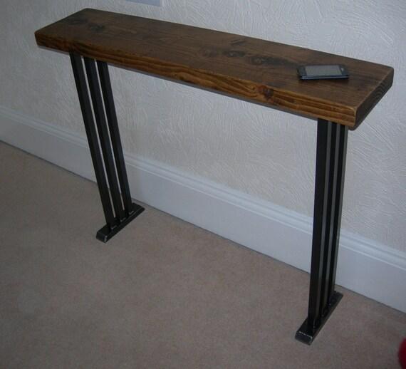 couloir console table belle art deco style rustique industriel. Black Bedroom Furniture Sets. Home Design Ideas
