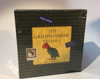 Vintage 1992 Three Volume Set The Griffin and Sabine Trilogy by Nick Bantock Letters and Postcards Collectible