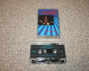 The jimi hendrix experience live at winterland cassette tape