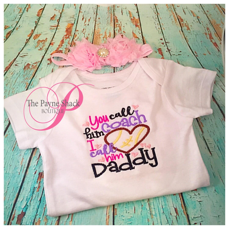 I call him my Daddy Bodysuit Newborn Baby Clothes