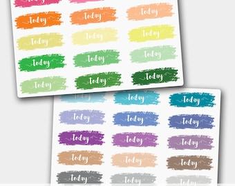 Today Stickers for Erin Condren, Today Planner Stickers, , Today Header, Today Label, Today Box, ECLP, Happy Planner