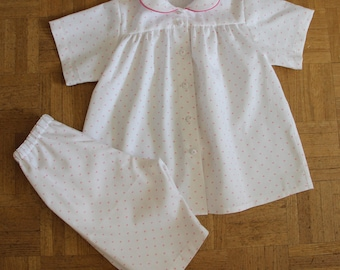 Pajamas summer cotton T 2 years old girl