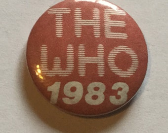 The Who Vintage Badge