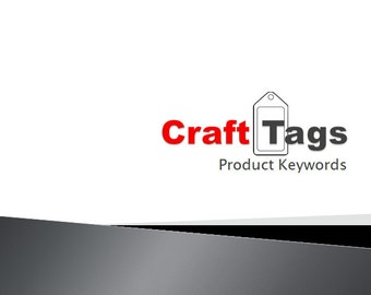Craft Tags Product Keywords SEO View Booster