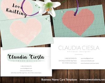 Crochet card crochet business card printable cards editable knitting yarns name card knitting calling card knitting patterns knit wear design card name card business card heart knitting card colourmoves