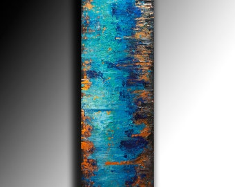 Customer Abstract Art painting on canvas multicolored fine art  rich textured wall art art decor