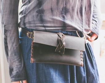 Leder, Hüfttasche, Boho Bauchtasche, Gürteltasche schwarz, Frauen Dienstprogramm Gürtel