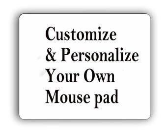 Personalized Photo Mouse Pad,Custom your picture,logo,text,make your own Computer mousepad