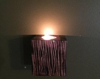 Tea Light Candle Holders, tea light wall sconce,