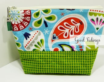 SALE - Good Tidings Modern Holiday Project Bag