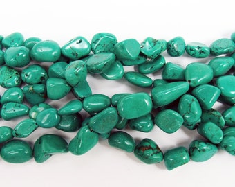 Chinese Turquoise Nugget Gemstone Beads
