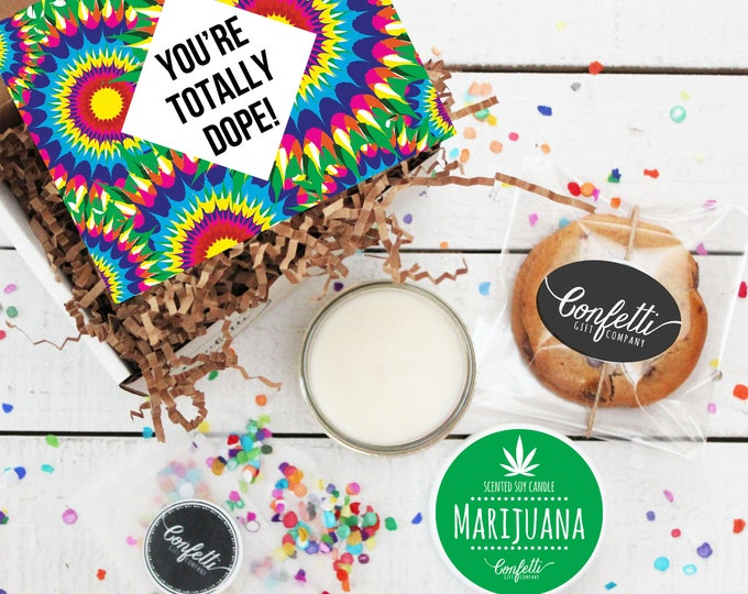 Mini You're Totally Dope Gift Box | Celebration Gift | Congratulations Gift | Friend Gift | Thank you Gift | Boyfriend Gift | Brother Gift