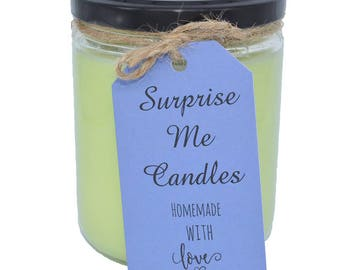 Bamoboo Musk Candle With Sterling Silver Ring Inside