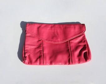 Hot Pink 80's Clutch