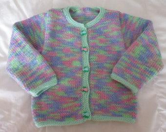 Multicolor baby vest size 18 months